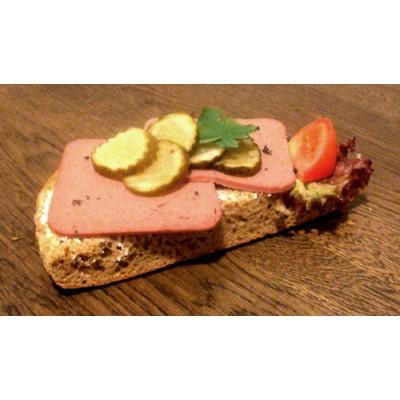 Leverpastej smörgås