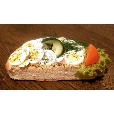 Ägg/kaviar smörgås