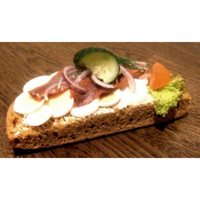 Ägg/sill smörgås