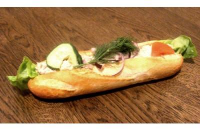 Tonfiskbaguette ljus/grov