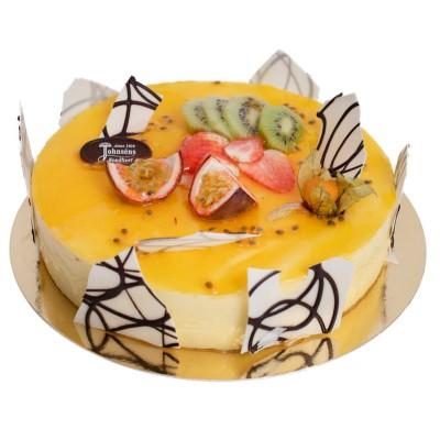 Passionsmoussetårta