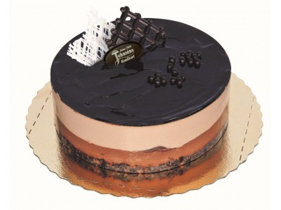 Trippelchoklad moussetårta
